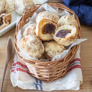 ころころ♩きな粉あんドーナツのレシピと作り方。 料理研究家・フードコーディネーター藤井玲子のレシピと料理写真。れこれしぴ