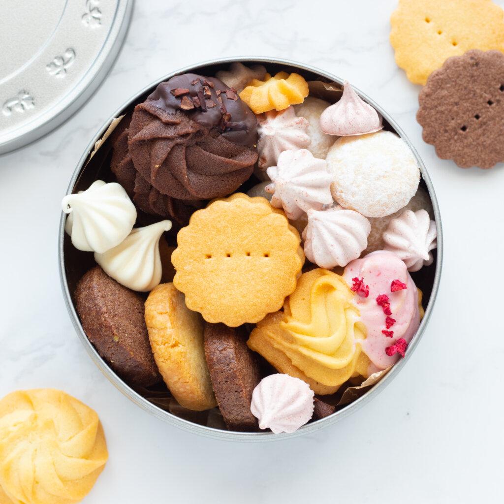 かわいい手作りクッキー缶のコツ。料理研究家・フードコーディネーター藤井玲子のレシピと料理写真。れこれしぴ