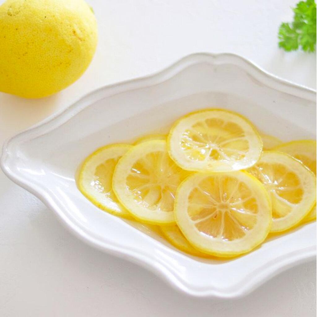 レンジで簡単!レモンのはちみつ漬けのレシピと作り方。 料理研究家・フードコーディネーター藤井玲子のレシピと料理写真。れこれしぴ
