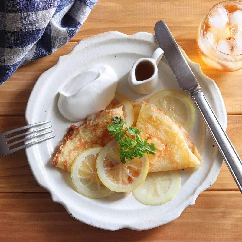 簡単★たまごひとつで作れるクレープのレシピと作り方。 料理研究家・フードコーディネーター藤井玲子のレシピと料理写真。れこれしぴ
