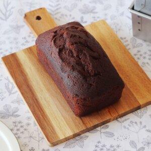 しっとり♡ココアのパウンドケーキのレシピと作り方。 料理研究家・フードコーディネーター藤井玲子のレシピと料理写真。れこれしぴ
