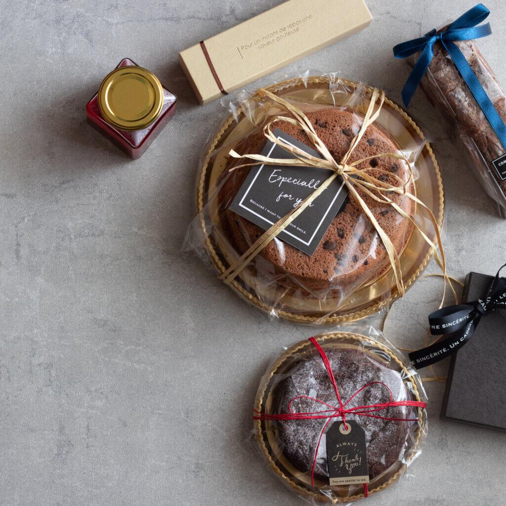 バレンタインのお菓子を可愛くラッピング!料理研究家・フードコーディネーター藤井玲子のレシピと料理写真。れこれしぴ