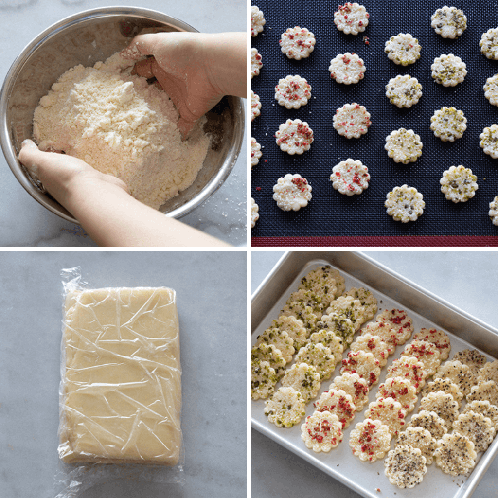 サクサク!やみつき♩4種のひとくちチーズパイのレシピと作り方。 料理研究家・フードコーディネーター藤井玲子のレシピと料理写真。れこれしぴ