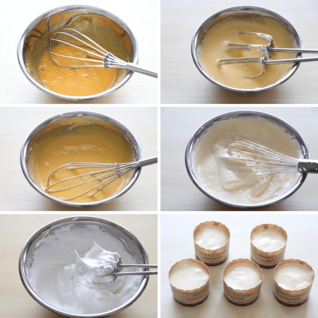 マフィンカップで♩プチシフォン!のレシピと作り方。 料理研究家・フードコーディネーター藤井玲子のレシピと料理写真。れこれしぴ