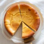 紙型で作る♪基本のチーズケーキのレシピと作り方。スタイリングと写真の撮り方。 料理研究家・フードコーディネーター藤井玲子のレシピと料理写真。れこれしぴ