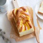 しっとりふんわり♡カスタード食パンのレシピと作り方。スタイリングと料理写真の撮り方。 料理研究家・フードコーディネーター藤井玲子のレシピと料理写真。れこれしぴ