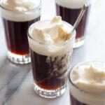 ぷるぷる&とろーり♪寒天コーヒーゼリー のレシピと作り方。スタイリングと料理写真の撮り方。 料理研究家・フードコーディネーター藤井玲子のレシピと料理写真。れこれしぴ