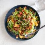 タコライスのレシピと作り方。スタイリングと料理写真の撮り方。 料理研究家・フードコーディネーター藤井玲子のレシピと料理写真。れこれしぴ