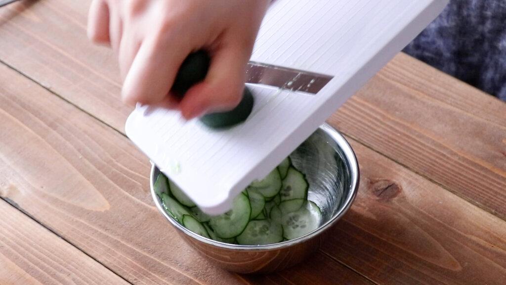 ポテトサラダのレシピと作り方。スタイリングと料理写真の撮り方。 料理研究家・フードコーディネーター藤井玲子のレシピと料理写真。れこれしぴ