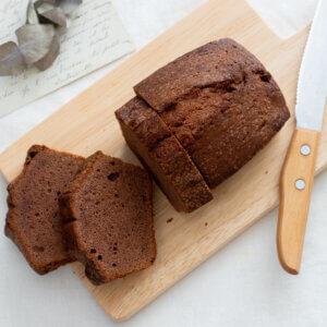 ココアのパウンドケーキのレシピと作り方。スタイリングと料理写真の撮り方。 料理研究家・フードコーディネーター藤井玲子のレシピと料理写真。れこれしぴ